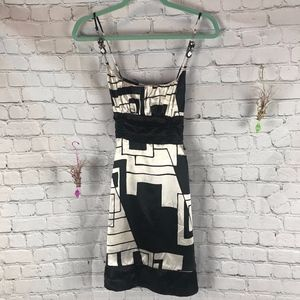 Charlotte Russe Black & White Dress Size S